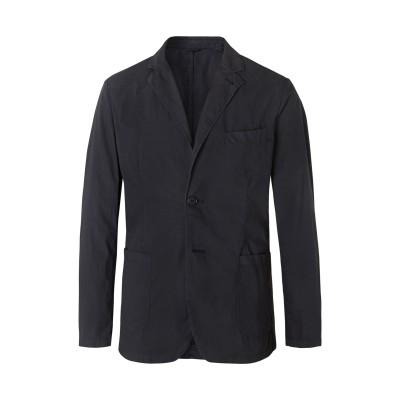 アスペジ ASPESI テーラードジャケット ダークブルー M コットン 100% テーラードジャケット