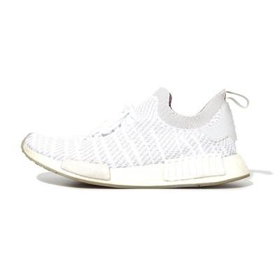 【中古】adidas originals アディダスオリジナルス NMD R1 STLT PK ローカット スニーカー US8.5 26.5cm WHITE 白色 CQ2390/◆ メンズ 【ベクトル 古着】