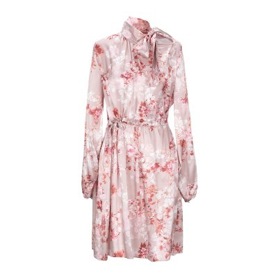イレブンティ ELEVENTY ミニワンピース&ドレス パステルピンク 46 シルク 100% ミニワンピース&ドレス
