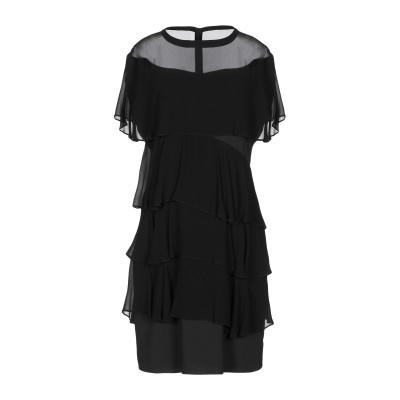 ピンコ PINKO ミニワンピース&ドレス ブラック 38 ポリエステル 100% / レーヨン ミニワンピース&ドレス