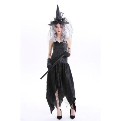 巫女 魔女  ハロウィン 仮装 衣装 制服  ハロウイーン パーティ 学園祭 文化祭 万聖節 ステージ Halloween レディース  女神 イベント   女性用 大人用