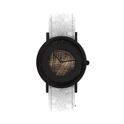 South Lane Stainless Steel Swiss-Quartz Leather Calfskin Strap, Black, 20 Casual Watch (Model: core-SL-7) 並行輸入品