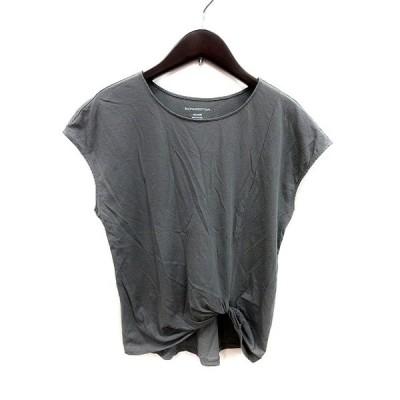 【中古】バンヤードストーム BARNYARDSTORM カットソー Tシャツ クルーネック フレンチスリーブ M グレー /MS レディース 【ベクトル 古着】