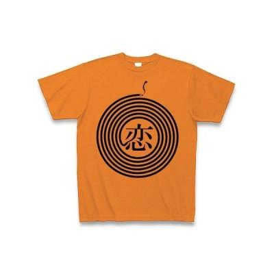 夏の恋は蚊取り線香 Tシャツ(オレンジ)