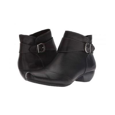 taos Footwear タオス レディース 女性用 シューズ 靴 ブーツ アンクル ショートブーツ Addition - Black Leather