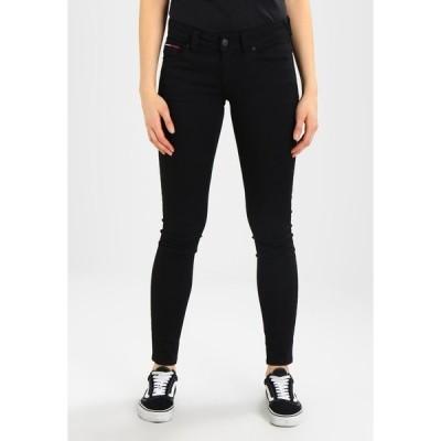 トミーヒルフィガー デニムパンツ レディース ボトムス HIGH RISE SKINNY SANTANA - Jeans Skinny Fit - dana black stretch