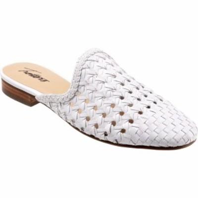 トロッターズ Trotters レディース ローファー・オックスフォード シューズ・靴 Leona White Leather