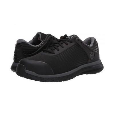 Timberland PRO ティンバーランド メンズ 男性用 シューズ 靴 スニーカー 運動靴 Drivetrain Composite Safety Toe EH - Black/Grey