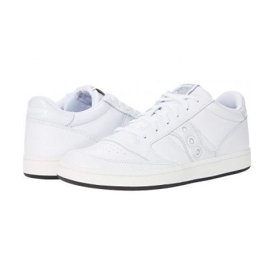 Saucony Originals サッカニー メンズ 男性用 シューズ 靴 スニーカー 運動靴 Jazz Court - White/White