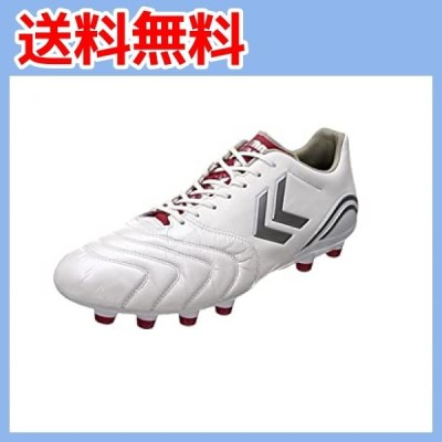 [ヒュンメル] サッカースパイク ヴォラートII WIDE ホワイト×レッド (1020) 27.5 cm