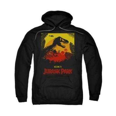 パーカー トレーナー ジュラシックパーク Jurassic Park Welcome To Jp Licensed Adult Hoodie