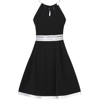 YES ZEE by ESSENZA ミニワンピース&ドレス ブラック XS ポリエステル 90% / ポリウレタン 10% ミニワンピース&ドレス