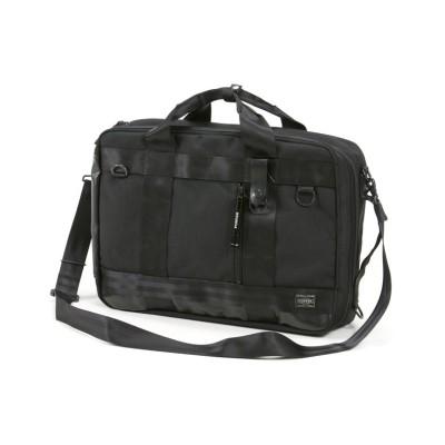 【カバンのセレクション】 吉田カバン ポーター ヒート 3WAY ビジネスバッグ リュック メンズ A4 B4 PORTER 703-06980 ユニセックス ブラック フリー Bag&Luggage SELECTION