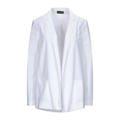 ロベルト コリーナ ROBERTO COLLINA テーラードジャケット ホワイト M コットン 100% テーラードジャケット