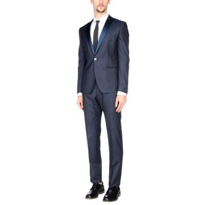 トネッロ TONELLO スーツ ダークブルー 48 バージンウール 82% / シルク 18% スーツ