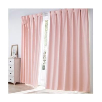 ブロック柄遮熱・防音・1級遮光カーテン ドレープカーテン(遮光あり・なし) Curtains, blackout curtains, thermal curtains, Drape(ニッセン、nissen)