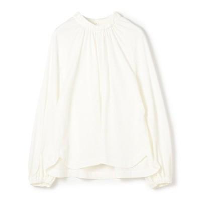 tシャツ Tシャツ KAON FOR ESTNATION / コットンスタンドカラーボリュームトップス