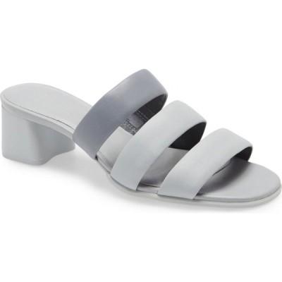 カンペール CAMPER レディース サンダル・ミュール シャワーサンダル シューズ・靴 Katie Slide Sandal Grey Leather
