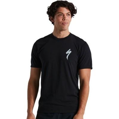 スペシャライズド Specialized メンズ 自転車 Tシャツ トップス S-Logo Short-Sleeve T-Shirt Black
