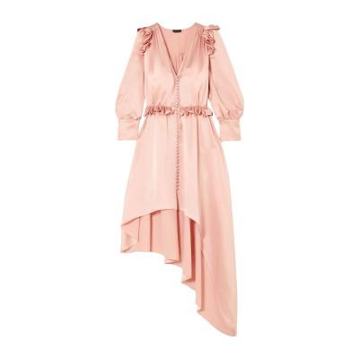 マグダ・ブトリム MAGDA BUTRYM ミニワンピース&ドレス ピンク 34 シルク 100% ミニワンピース&ドレス
