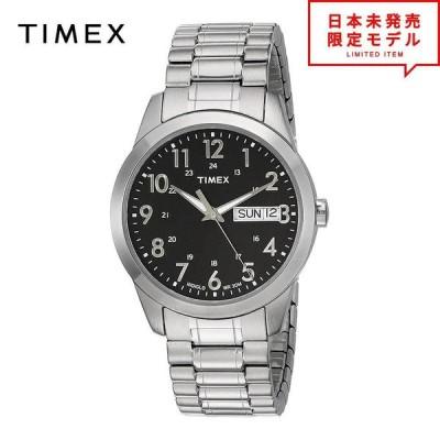 TIMEX タイメックス メンズ 腕時計 リストウォッチ T2M932 シルバー/ブラック 海外限定 時計 日本未発売 当店1年保証