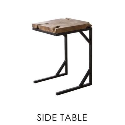 サイドテーブル おしゃれ 木製 無垢 天然木 ソファー ベッド ナイトテーブル 安い