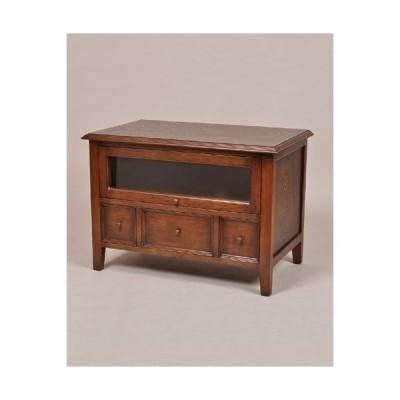 85テレビボード(オーク材) オーク材 英国スタイル 輸入家具 木製 リビングボード お洒落 クラシカル リビング インテリア デザイン アンティーク調 重厚