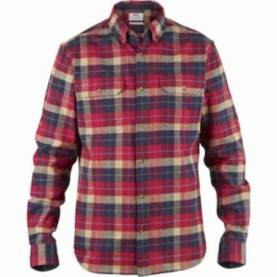 フェールラーベン シャツ Singi Heavyweight Flannel Shirt DEEP RED