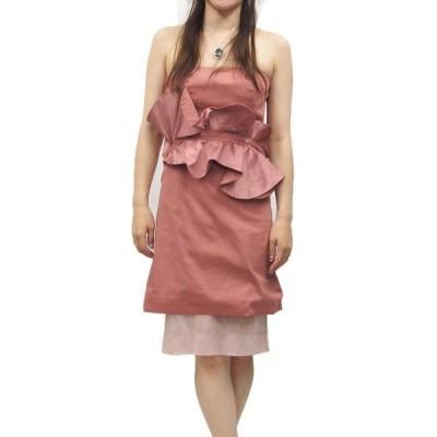 ANNARITA N(アンナリタエンネ)チューブトップワンピース(サイズ42)(ピンク)