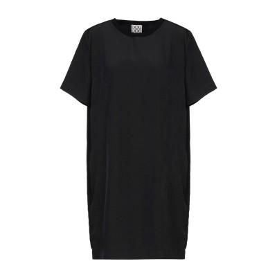 DOUUOD ミニワンピース&ドレス ブラック 42 ポリエステル 100% ミニワンピース&ドレス