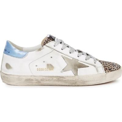 ゴールデン グース Golden Goose Deluxe Brand レディース スニーカー シューズ・靴 superstar distressed leather sneakers White