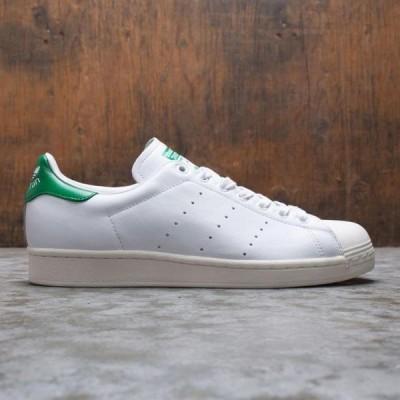 メンズ スニーカー シューズ Adidas Men Superstar (white / footwear white / green)