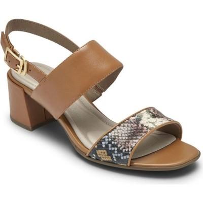 ロックポート Rockport レディース サンダル・ミュール シューズ・靴 Total Motion Alaina Double-Band Sandals Multi Snake