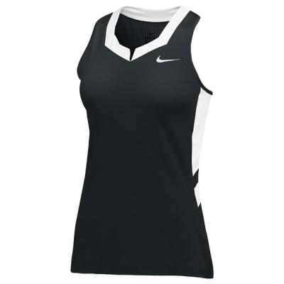 ナイキ Nike レディース ラクロス トップス Team Untouchable Speed Jersey Black/White