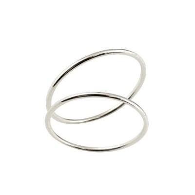 結婚指輪 マリッジリング ホワイトゴールドk18 18金 地金 ストレート 華奢 スイートペアリィー カップル 送料無料