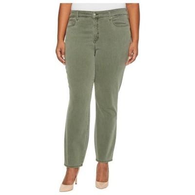 エヌ ワイ ディー ジェー レディース パンツ Plus Size Alina Legging Jeans in Fatigue