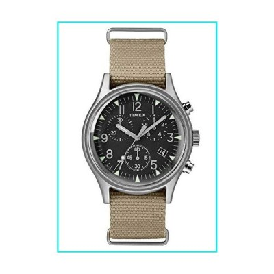 Timex Mens Chronograph Quartz Watch with Nylon Strap TW2T10700【並行輸入品】