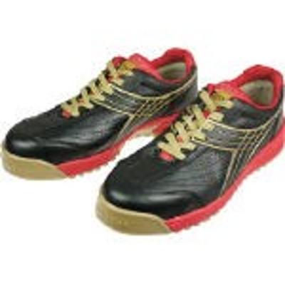【送料無料!作業靴が割引特価】ディアドラ DIADORA 安全作業靴 ピーコック 黒 24.0cm PC22240 [388-1717] 【作業靴】