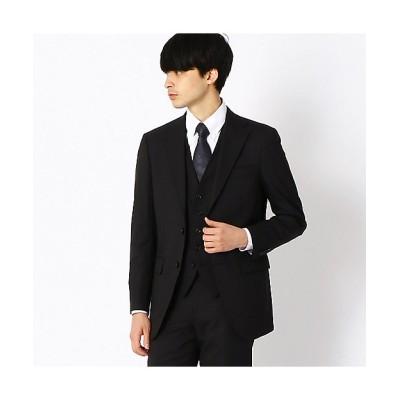 <COMME CA ISM (Men)/コムサイズム> TV媒体着用商品 ZIGNONE クラシックモデル スーツジャケット(4702GP06) ブラック【三越伊勢丹/公式】