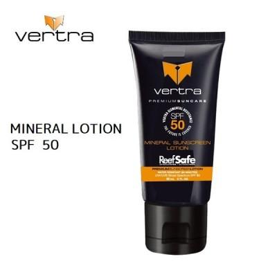 日焼け止め Vertra バートラ Mineral Lotion SPF50 日焼け止めローション 全身用