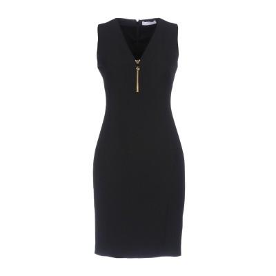 VERSACE COLLECTION ミニワンピース&ドレス ブラック 44 92% ポリエステル 8% ポリウレタン ミニワンピース&ドレス