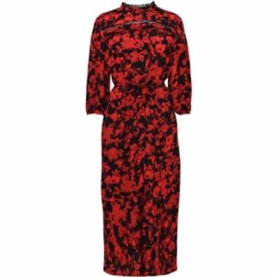 オアシス Oasis レディース ワンピース ミドル丈 ワンピース・ドレス Curve Floral Midi Dress Multi