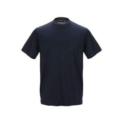 エンポリオ アルマーニ EMPORIO ARMANI T シャツ ダークブルー XS コットン 100% T シャツ