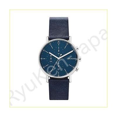 【新品・未使用品】Skagen Mens Chronograph Quartz Watch with Leather Strap SKW6463【並行輸入品】