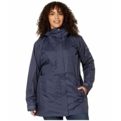 コロンビア レディース コート アウター Plus Size Splash A Little II Rain Jacket Nocturnal Titch