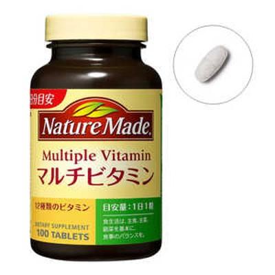 大塚製薬 NM NatureMade(ネイチャーメイド)マルチビタミン100粒 ネイチャーMマルチビタミン