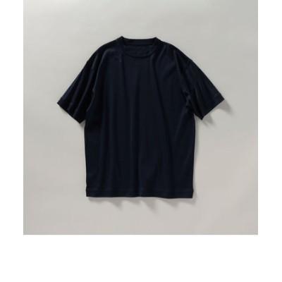 SHIPS: マーセライズド ジャージー クルーネック Tシャツ