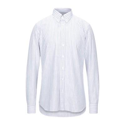 ラルディーニ LARDINI シャツ ホワイト 40 コットン 93% / レーヨン 5% / ナイロン 2% シャツ