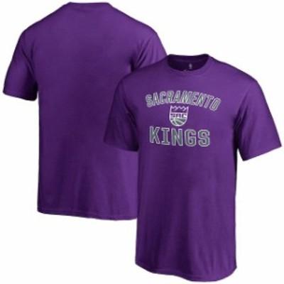 Fanatics Branded ファナティクス ブランド スポーツ用品  Sacramento Kings Youth Purple Victory Arch T-Shirt