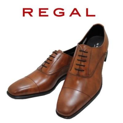 ビジネスシューズ リーガル NEW REGAL ストレートチップ 725R AL ブラウン 本革紳士靴